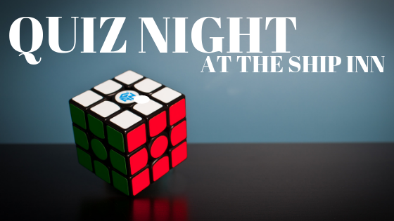 Monthly quiz night at The Ship Inn, Wool - everyone welcome to join us!