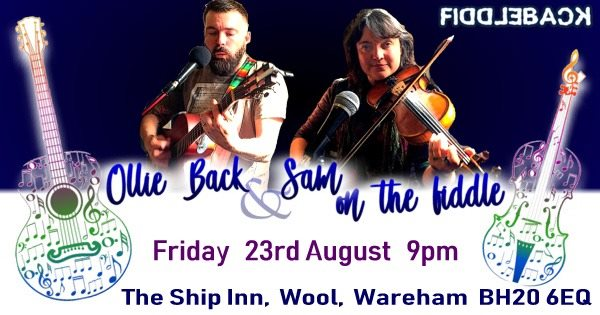 Live at The Ship Inn Wool - Ollie Back & Sam on the Fiddle